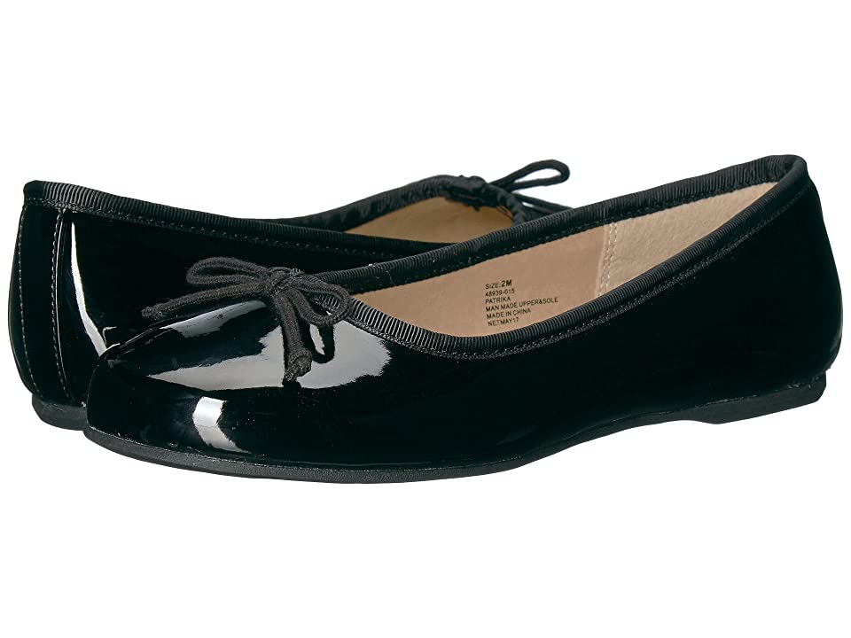Hanna Andersson Patrika (Toddler/Little Kid/Big Kid) (Black) Girls Shoes