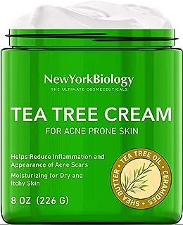 Tea Tree Oil Face Cream for Acne Prone Skin Care - Moisturizing Dry and Itchy Skin - Therapeutic Grade - 5% Tea Tree Oil F...