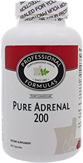 Professional Formulas Pure Adrenal 200 180 Capsules by Professional Formulas