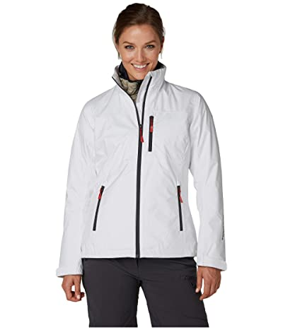 Helly Hansen Crew Midlayer Jacket (White 2) Women