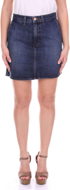 J Brand Women's JB001123J40904 bluee Cotton Skirt