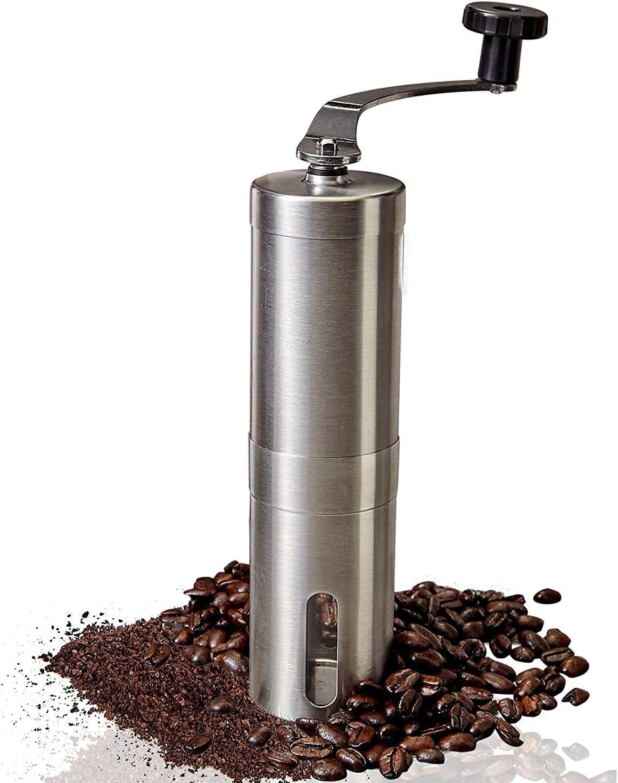 Coffee Some reservation Grinder Vievogue Premium Manual Steel ...