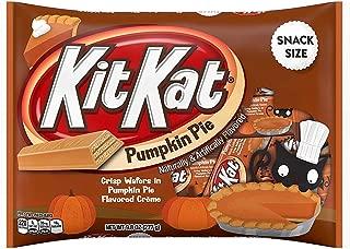 KitKat Pumpkin Pie Snack Size Crisp Wafers 9.8oz (Single Pack)