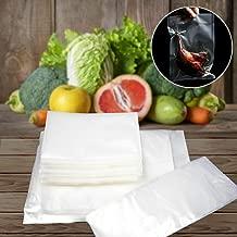100 x Food Saver Bags Rolls Vacuum Sealer Bags BPA Free Freezer Vacuum Bags for Sous Vide Cooker and Vaccum Food Sealer Machines