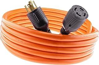 MPI Tools Nema L14-30 Generator Power Cord 4 Wire 10 Gauge 125/250v 30 Amp 7500 watts (40 Feet)