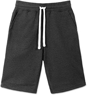 JC DISTRO Men's Jogger Sweat Athletic Shorts Fleece Shorts Jersey Shorts with Pockets