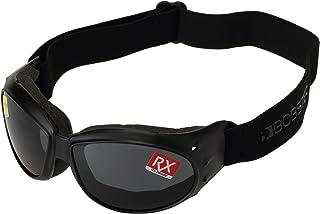Bobster Cruiser Goggles, Black Frame/Smoked Anti-Fog Lens