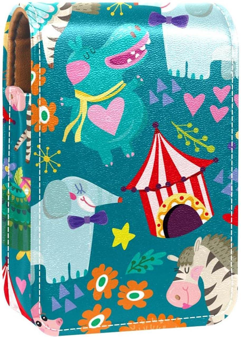 Mail order cheap Cute Cartoon Animal Zebra Elephant Holder Lip Lipstick Pig Gloss Max 78% OFF