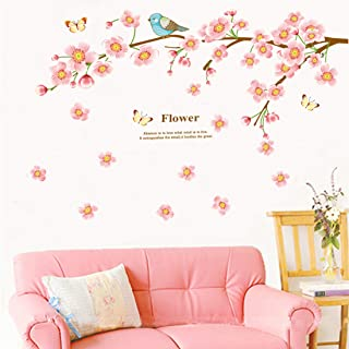 Amazon Brand - Solimo Wall Sticker for Living Room (Tree Branches Quote ), Ideal Size on Wall: 140 x 120 cm