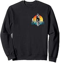 Malibu Coastal California Famous Surfing Beach Souvenir Sweatshirt
