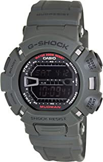 Casio G-Shock Digital MUDMAN Mud Resist Mens Green Watch G-9000-3V G-9000-3VDR