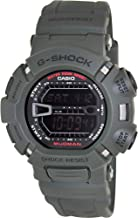 Casio Men's G9000-3V G-Shock Green Mudman Digital Sports Watch, Black