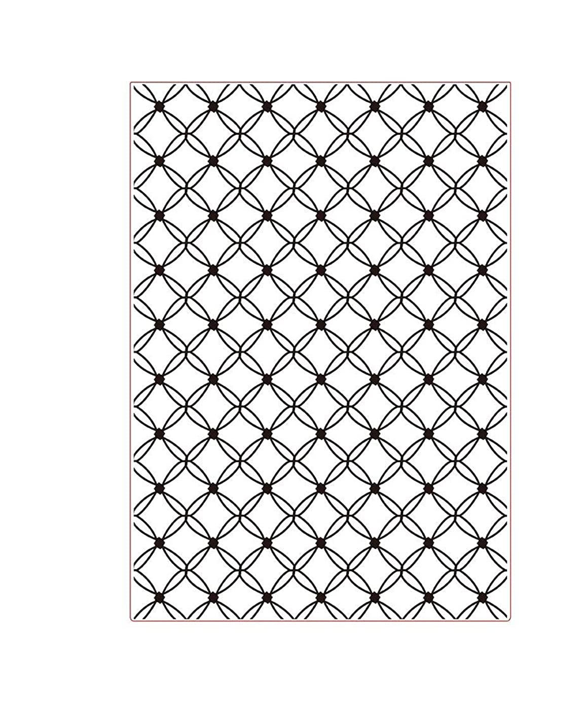 Darice Shell Embossing Template, Transparent, A4