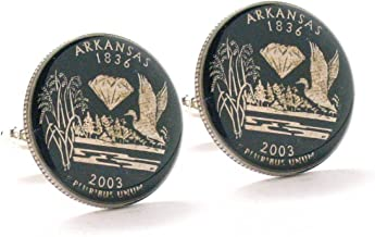 Haiti Coin Cufflinks