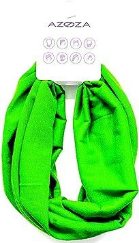 Multifunktionstuch Herren Damen Halstuch Schlauchtuch Outdoor Motorrad Fahrrad Schlauchschal Schlauch Tuch Schal Neongrün Auto