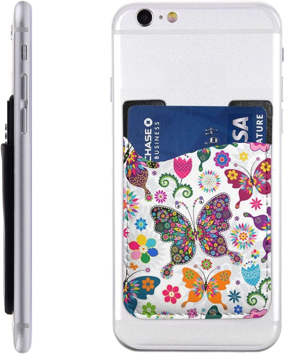 Colorful Very Minneapolis Mall popular Butterflies and Flowers Phone Cell Holder St Card