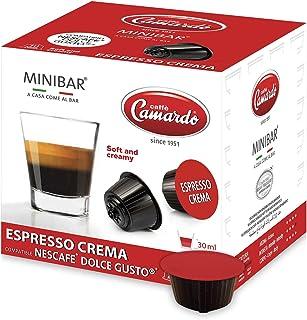 CAFFÈ CAMARDO 30 capsules compatibles avec machine à café Nescafé Dolce Gusto®* - Mélange ESPRESSO CREMA - Made in Italy -...