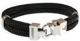 WAVEPIRATE Segeltau-Armband Turn ST Schwarz Herrenarmband Männer