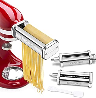 Best kitchenaid pasta roller & cutter attachment set Reviews