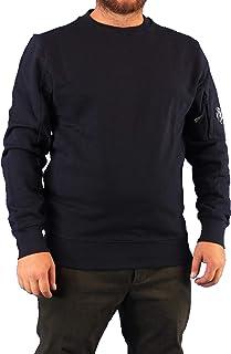 C.P. COMPANY Sweatshirts - Crew Neck Diagonal Raised Fleece 09CMSS039A 005086W col 693