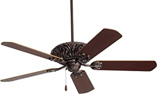 Emerson Ceiling Fans CF935ORB Zurich 52-Inch Indoor Ceiling Fan, Light Kit Adaptable, Oil Rubbed Bronze Finish