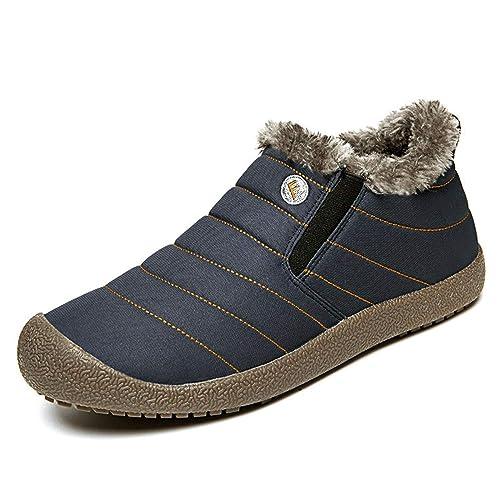 62a7b6fd6a50e Fleece Lined Shoes: Amazon.com