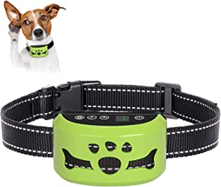 [ 2019 Newest ] Dog Bark Collar, 🐶 7 Adjustable Sensitivity and Intensity Levels - Dual Anti-Barking Modes-Rechargeable - Rainproof No Barking Control Dog shock Collar for Small, Medium, Large Dogs