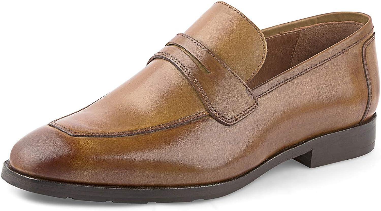 AZYRRHA Män's Genuine läder Casual Slip on Loafers läder läder läder Linje Andable Drive skor  60% rabatt