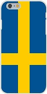 苹果 iPhone 6 定制手机壳白色塑料卡扣式手机壳 - 瑞典 - 世界国家国旗