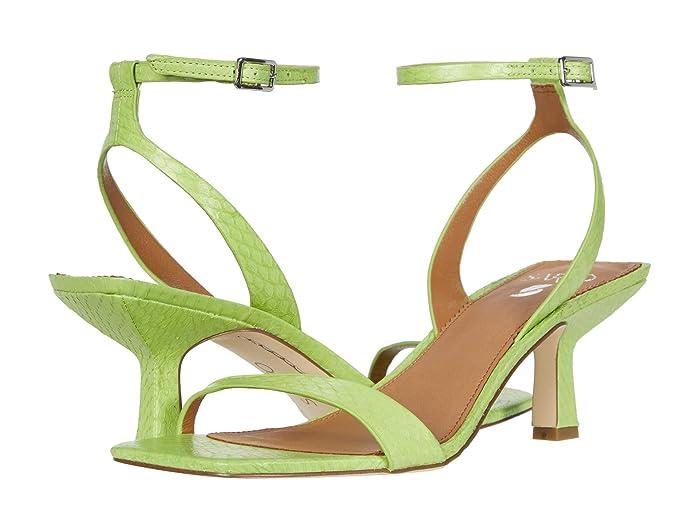Franco Sarto  Bona 2 by SARTO (Lime Snake) Womens Shoes