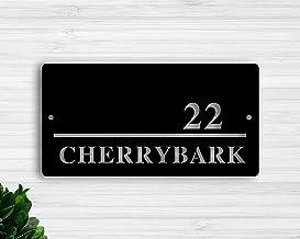 Free Brand Huisnummer Plaque, Moderne Huisnummers, Metalen Adres Teken, Adres Plaque, Gepersonaliseerde Straatteken, Huisn...