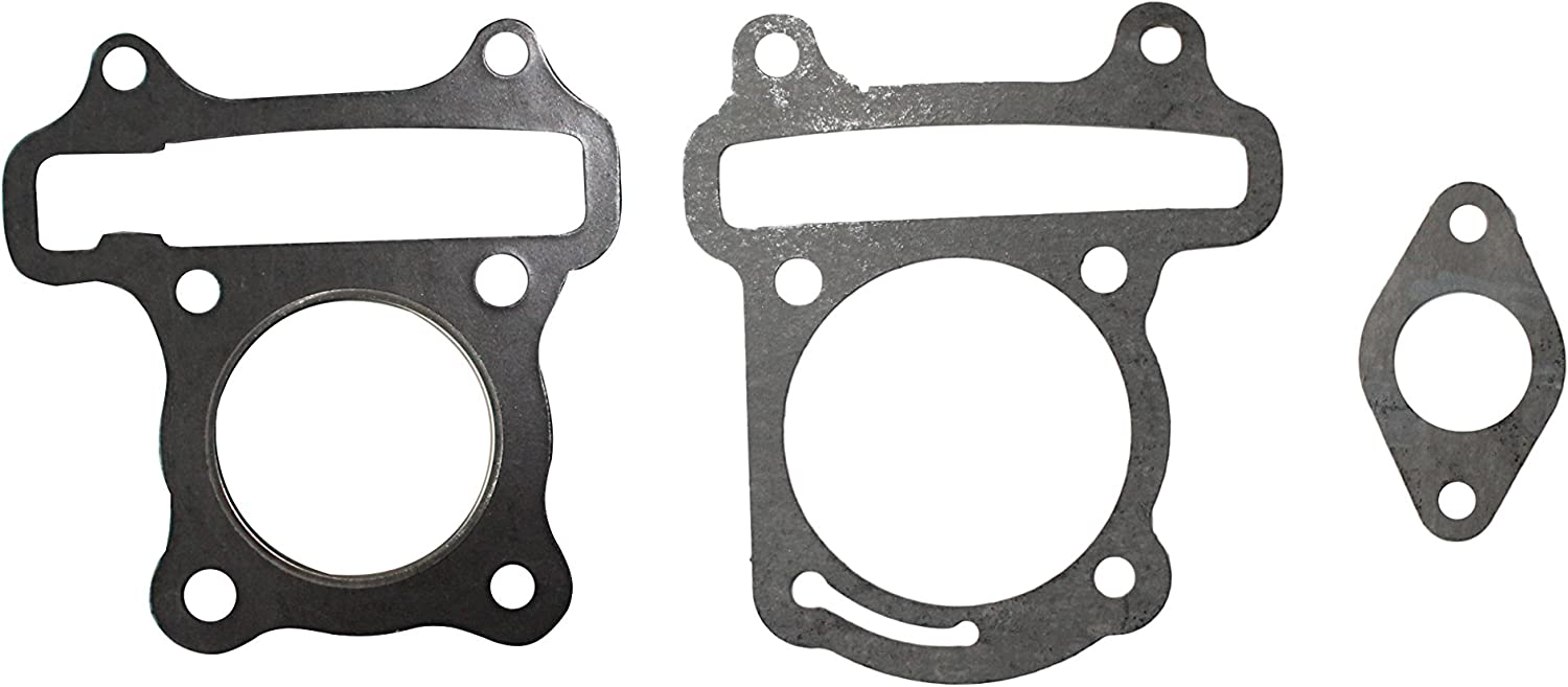 Cylinder Head Gaskets Kit Tampa Mall Set with Pipe 50cc Manifold Gasket Finally popular brand for