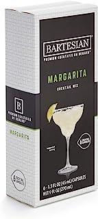 Bartesian Margarita Cocktail Mixer Capsules, Pack of 6 Cocktail Capsules, for Bartesian Premium Cocktail Maker (55351)