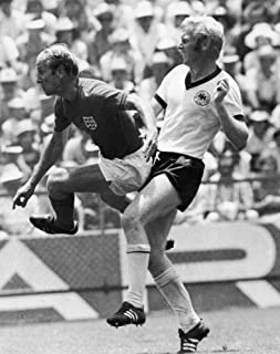 Soccer World Cup 1970 Nbobby Charlton (Left) Of England Playing Against Karl-Heinz Schnellinger Of West Germany During The 1970 World Cup Quarter Final 14 June 1970 Poster Print by (24 x 36)