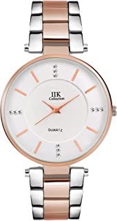 c90c8f7b1 IIK Collection Watches Analogue Silver Big Size Dial Girl s   Women s  Analogue Watch ...