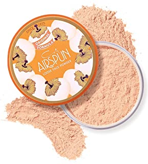 Coty Airspun Loose Face Powder 2.3 oz. Rosey Beige Tone Loose Face Powder, for Setting Makeup or Foundation, Lightweight, ...