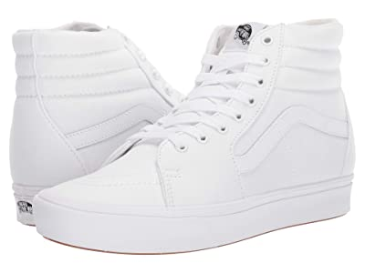 Vans ComfyCush SK8-Hi ((Classic) True White/True White) Athletic Shoes