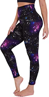 Gayhay High Waisted Leggings for Women - Soft Opaque Slim Tummy Control Printed Pants for Running Cycling Yoga