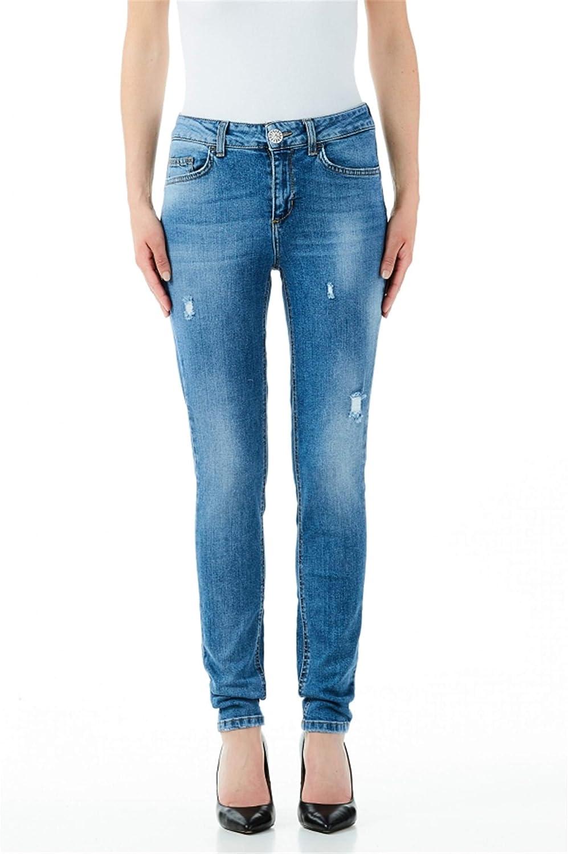 Endurecer Desaparecido inercia  Jeans Donna LIU-JO cod.UA0013D4448: Amazon.co.uk: Clothing