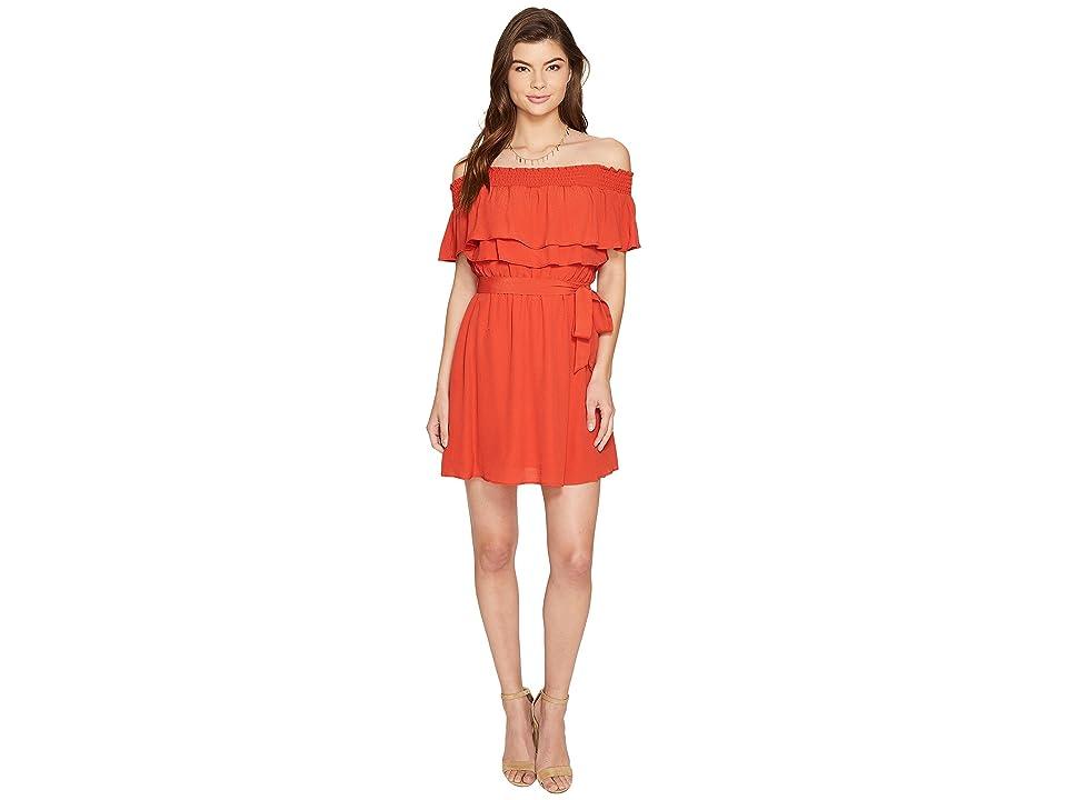 Lovers + Friends Suntime Dress (Red) Women