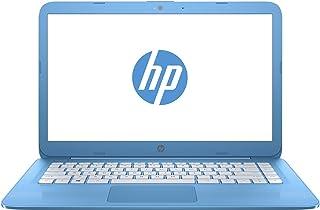 HP Stream 14-ax010wm  Laptop - Intel Celeron N3060, 14-Inch, 32GB, 4GB, Win 10, Auqa Blue