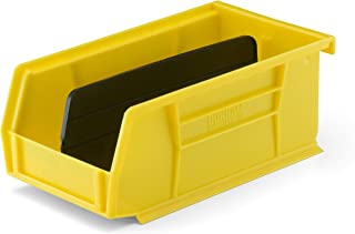 Secure It Gun Storage Medium Storage Bin with Divider: Perfect to Store Spare Magazines, Ammo, and Cleaning Supplies, Resistant to Oil and Cleaning Solvents, Easy Clip to Grid Wall