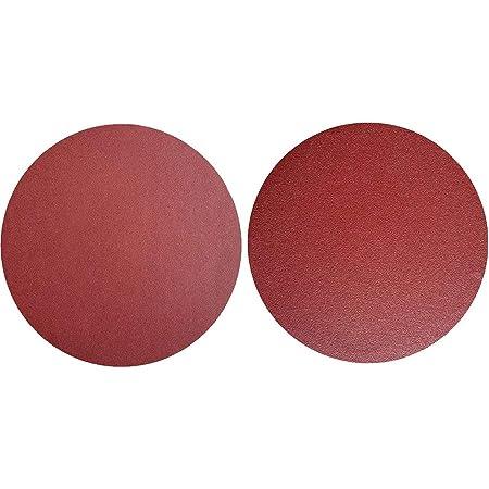Utoolmart 8 inch No Hole PSA Sanding Disc Alminum Oxide Abrasive Adhesive Sandpaper 800 Grit Roud Sanding Sheet Polishing Tool for Hardware Automobiles 15pcs