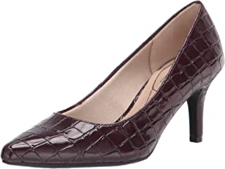 LifeStride womens Sevyn Pump, Pinot Noir, 7.5 US