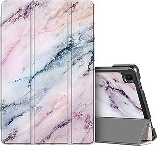 Fintie Hülle für Samsung Galaxy Tab A7 10,4 2020   Ultra Schlank Kunstleder Schutzhülle Cover mit Auto Schlaf/Wach Funktion für Samsung Galaxy Tab A7 10.4 SM T500/505/507 Tablet, Marmor Rosa