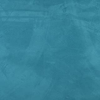 C097 Turquoise Solid Microsuede Microfiber Contemporary Upholstery Grade Fabric by The Yard