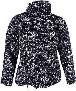 Women's Scuba Anorek Jacket L, Black/White