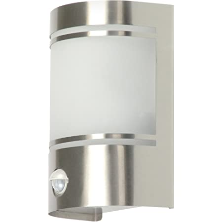 Ranex 5000.299 Applique Alicante détecteur de mouvement 60 watts Raccord E27, Blanc