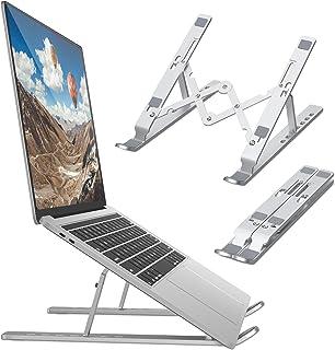 Support pour Ordinateur Portable,Support PC Portable Ventilé, Laptop Stand Réglable Ergonomique Léger Table de Lit Pliable...