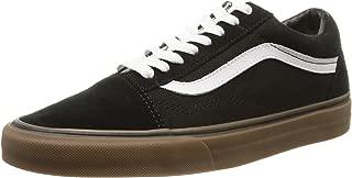 Vans Unisex Classic Old Skool Skate Shoes (Gumsole) VN-01R1GI6 Black/Medium Gum (13 D(M) Men US, Black/Medium Gum)